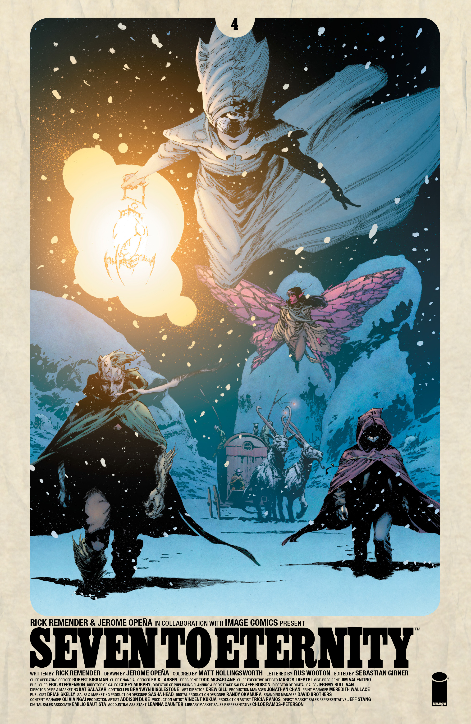 Read online Seven To Eternity comic -  Issue #4 - 1