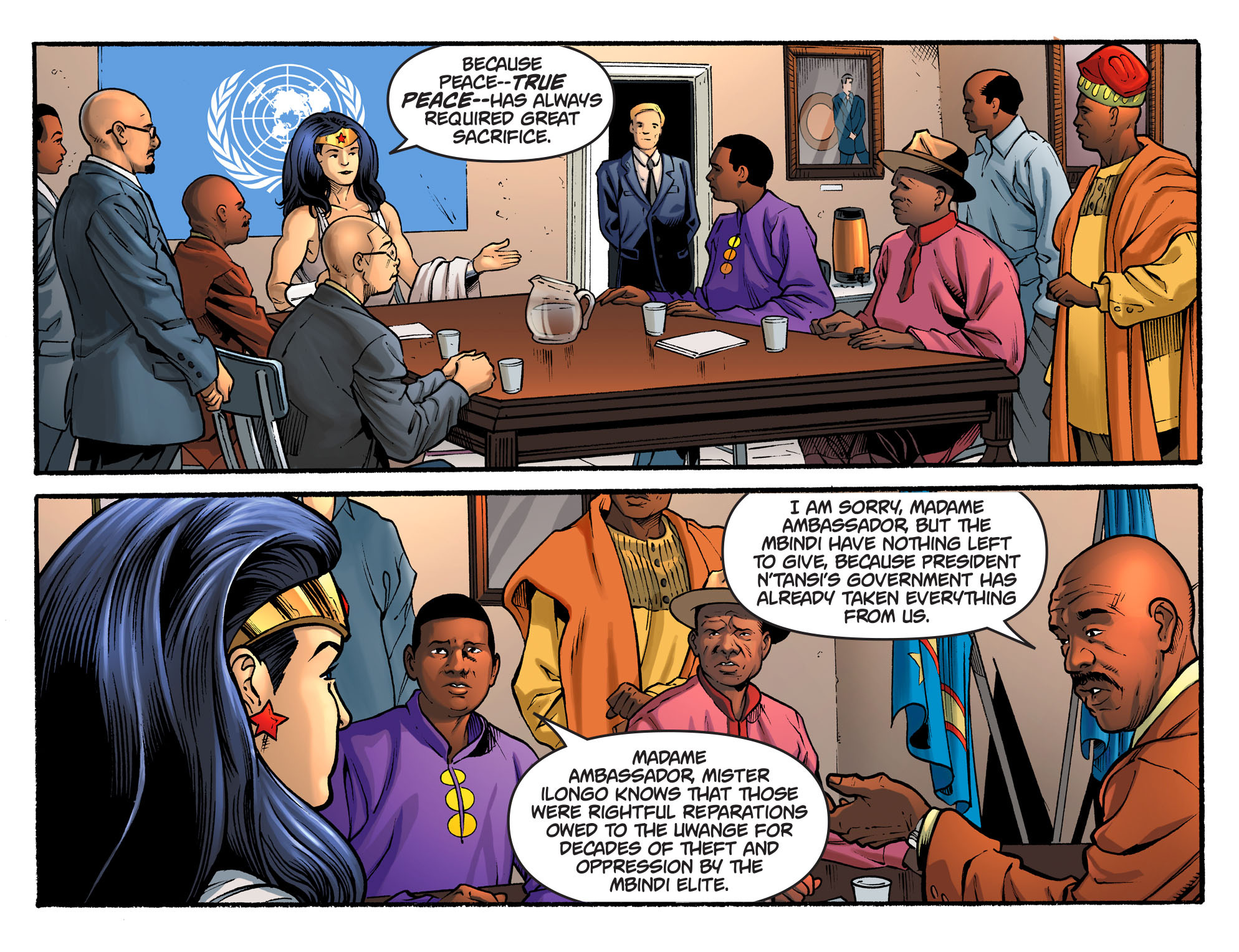 Read online Sensation Comics Featuring Wonder Woman comic -  Issue #34 - 11