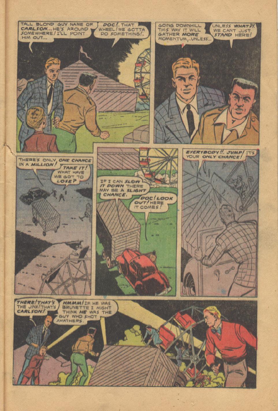 Read online Shadow Comics comic -  Issue #95 - 33
