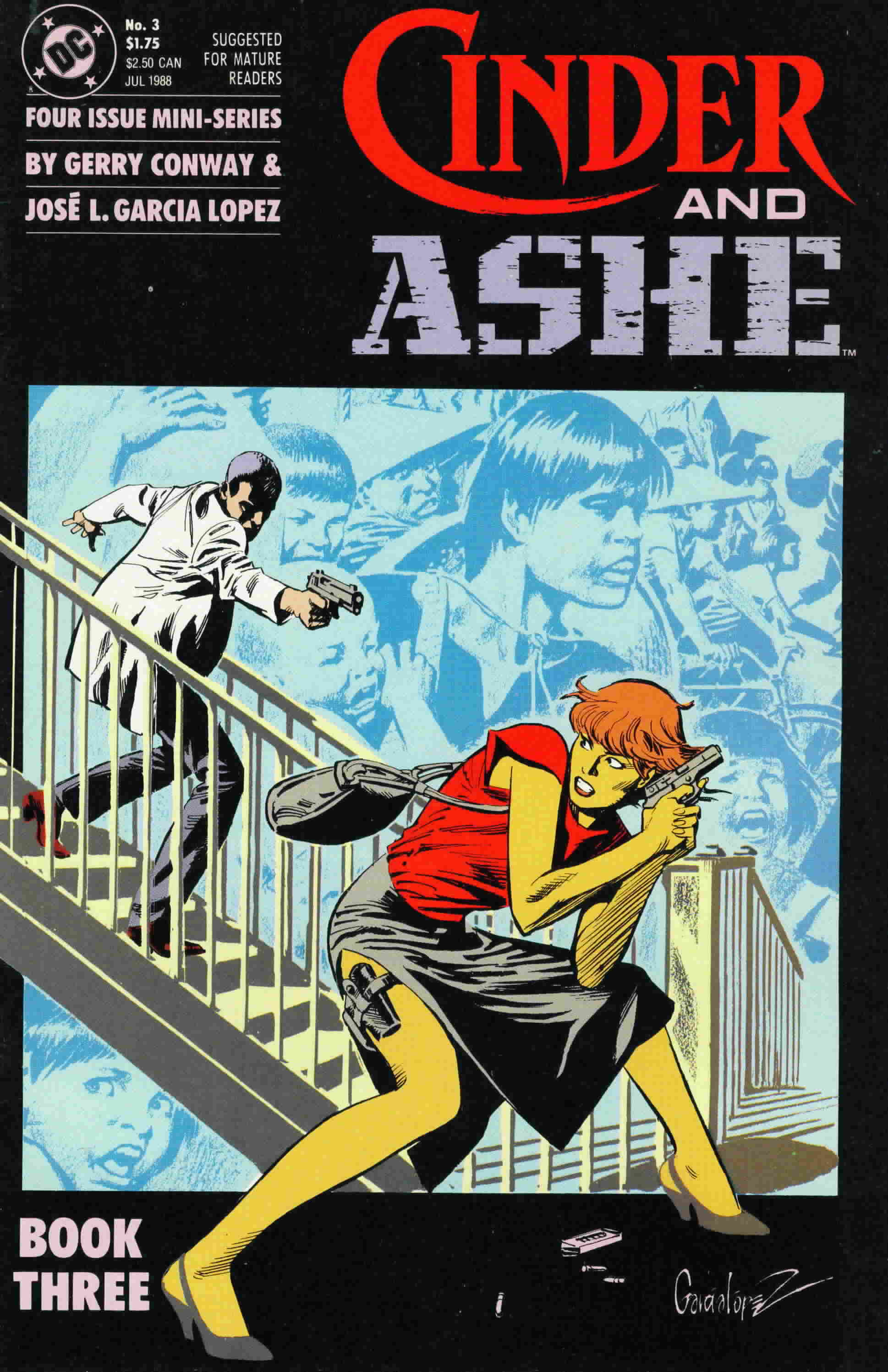 Read online Cinder and Ashe comic -  Issue #3 - 1