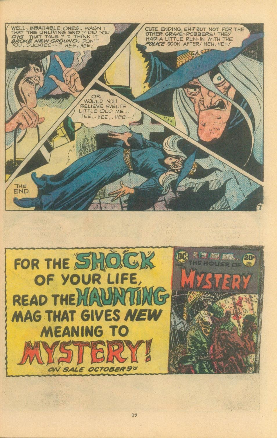 The Witching Hour (1969) issue 38 - Page 21