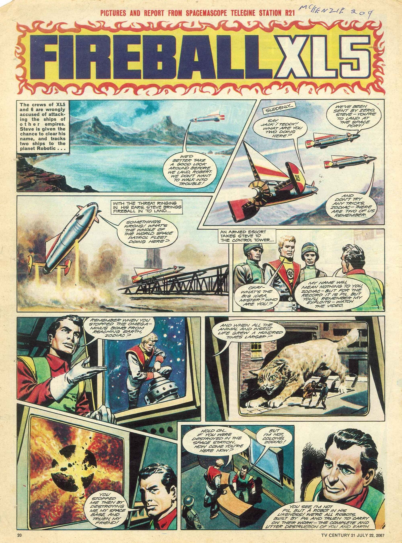 Read online TV Century 21 (TV 21) comic -  Issue #131 - 19