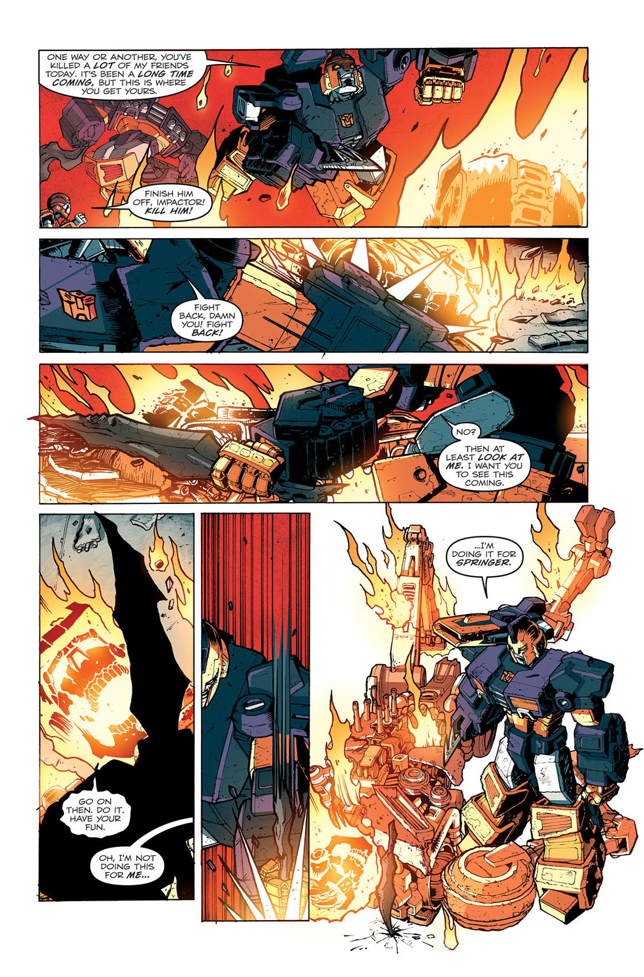 Read online Transformers: Last Stand of The Wreckers comic -  Issue #5 - 21