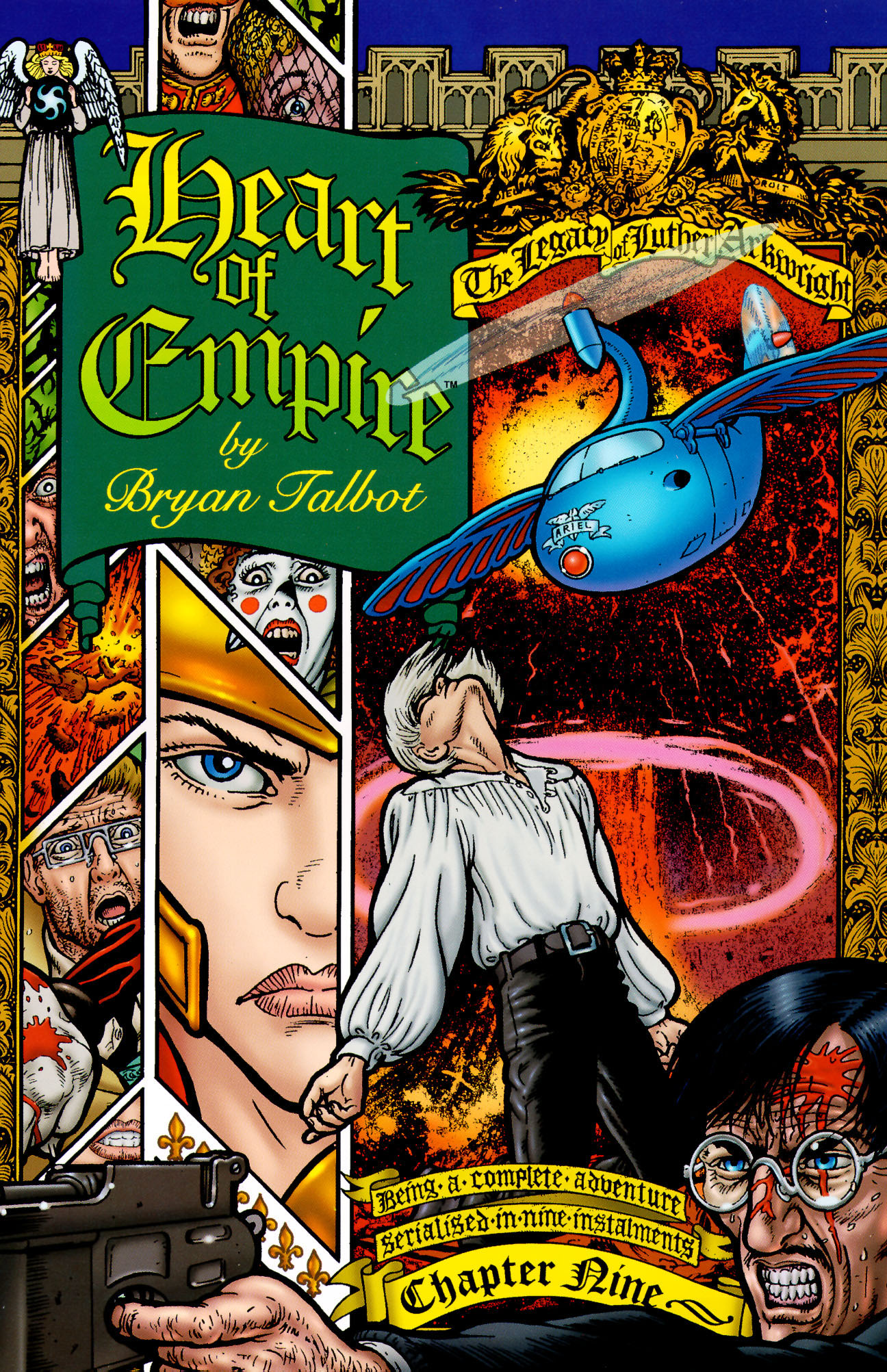 Read online Heart of Empire comic -  Issue #9 - 1
