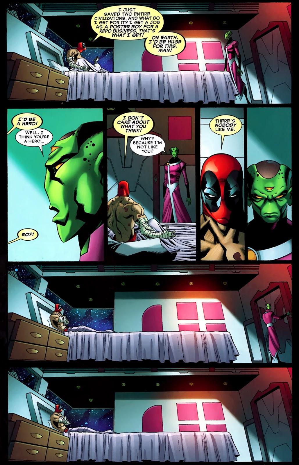 Read online Deadpool (2008) comic -  Issue #35 - 19