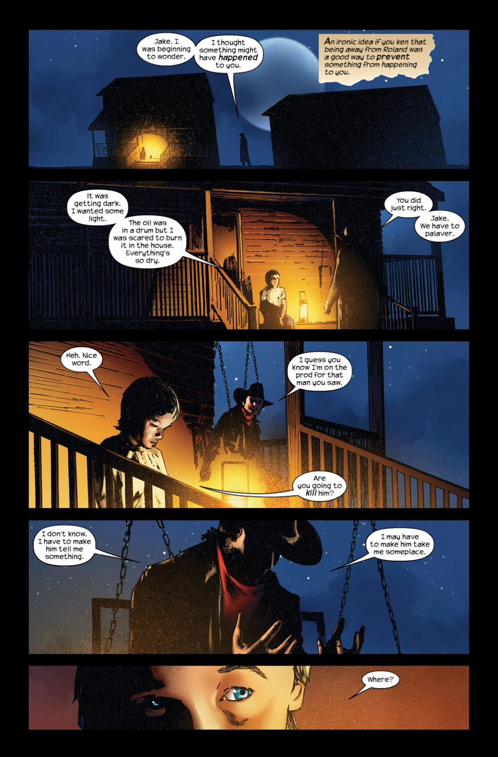 Read online Dark Tower: The Gunslinger - The Way Station comic -  Issue #3 - 10