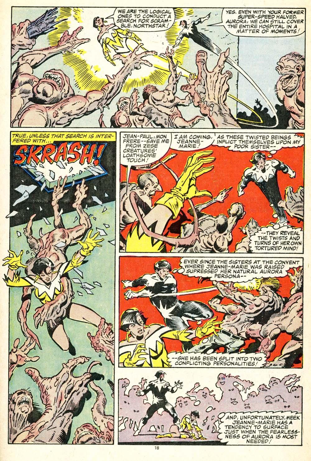 Read online Alpha Flight (1983) comic -  Issue #30 - 19