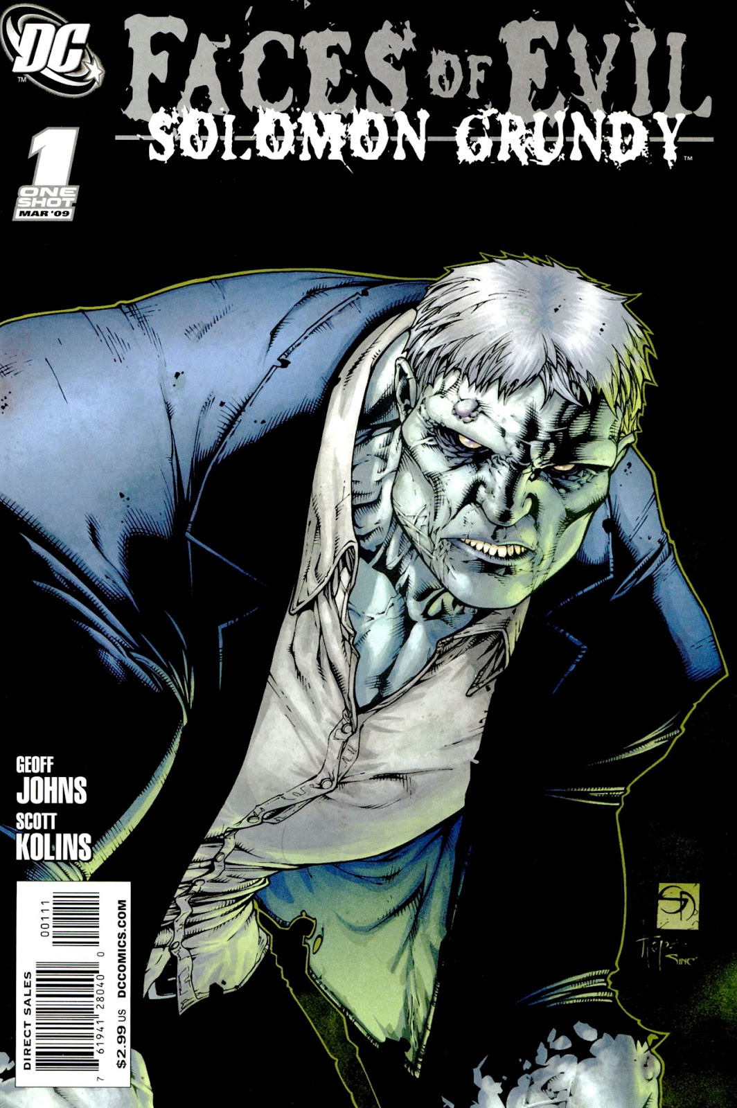 Faces of Evil: Solomon Grundy issue Full - Page 1