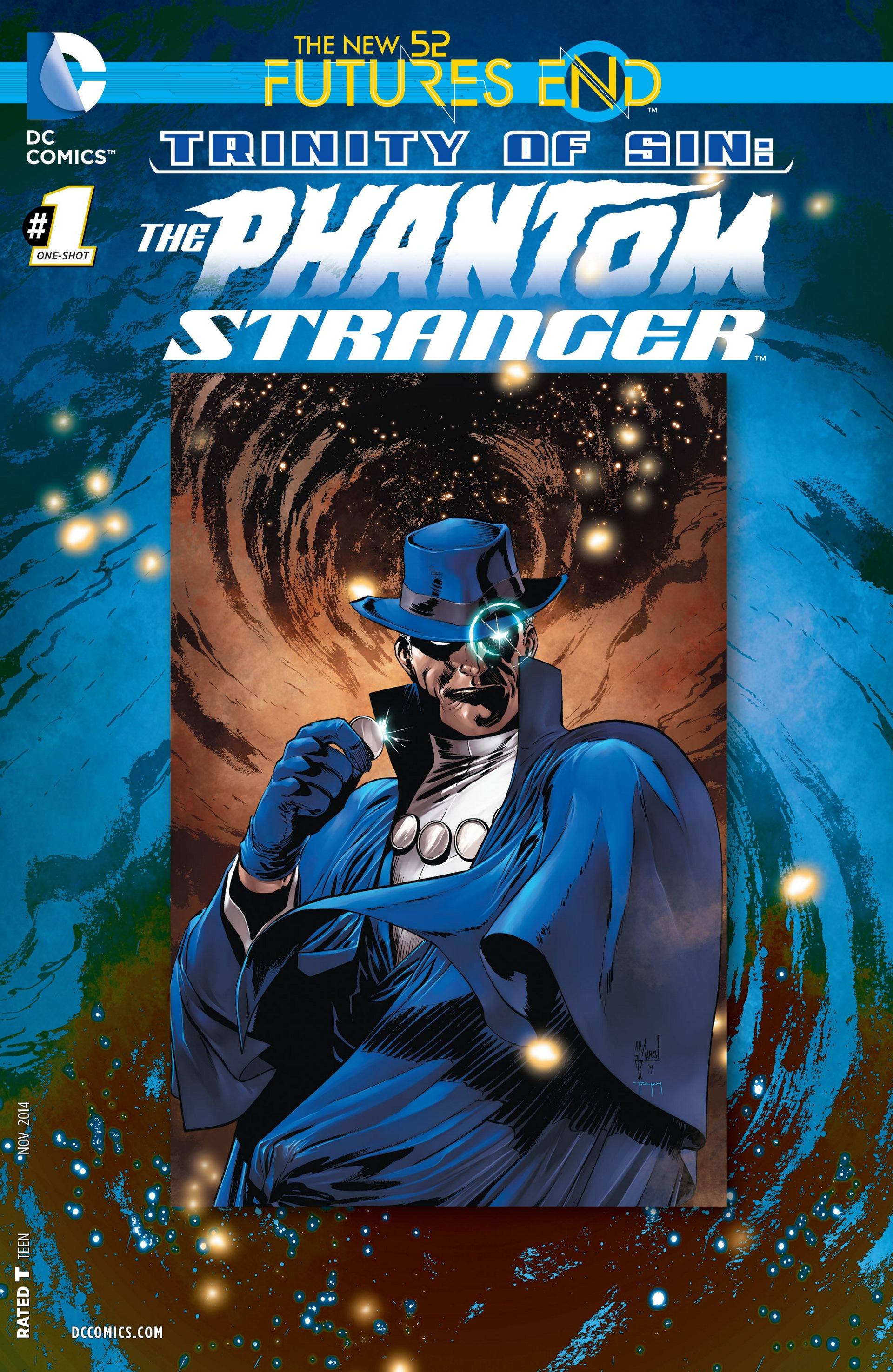 Read online Trinity of Sin: The Phantom Stranger: Futures End comic -  Issue # Full - 1