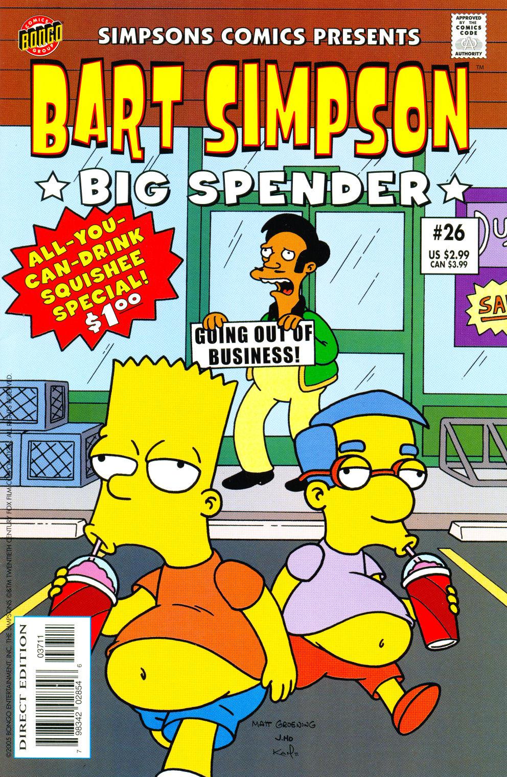 Read online Simpsons Comics Presents Bart Simpson comic -  Issue #26 - 1