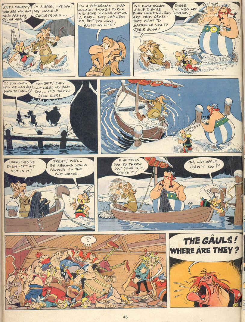 Read online Asterix comic -  Issue #22 - 43