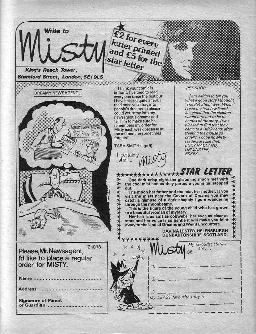Read online Misty comic -  Issue #36 - 26
