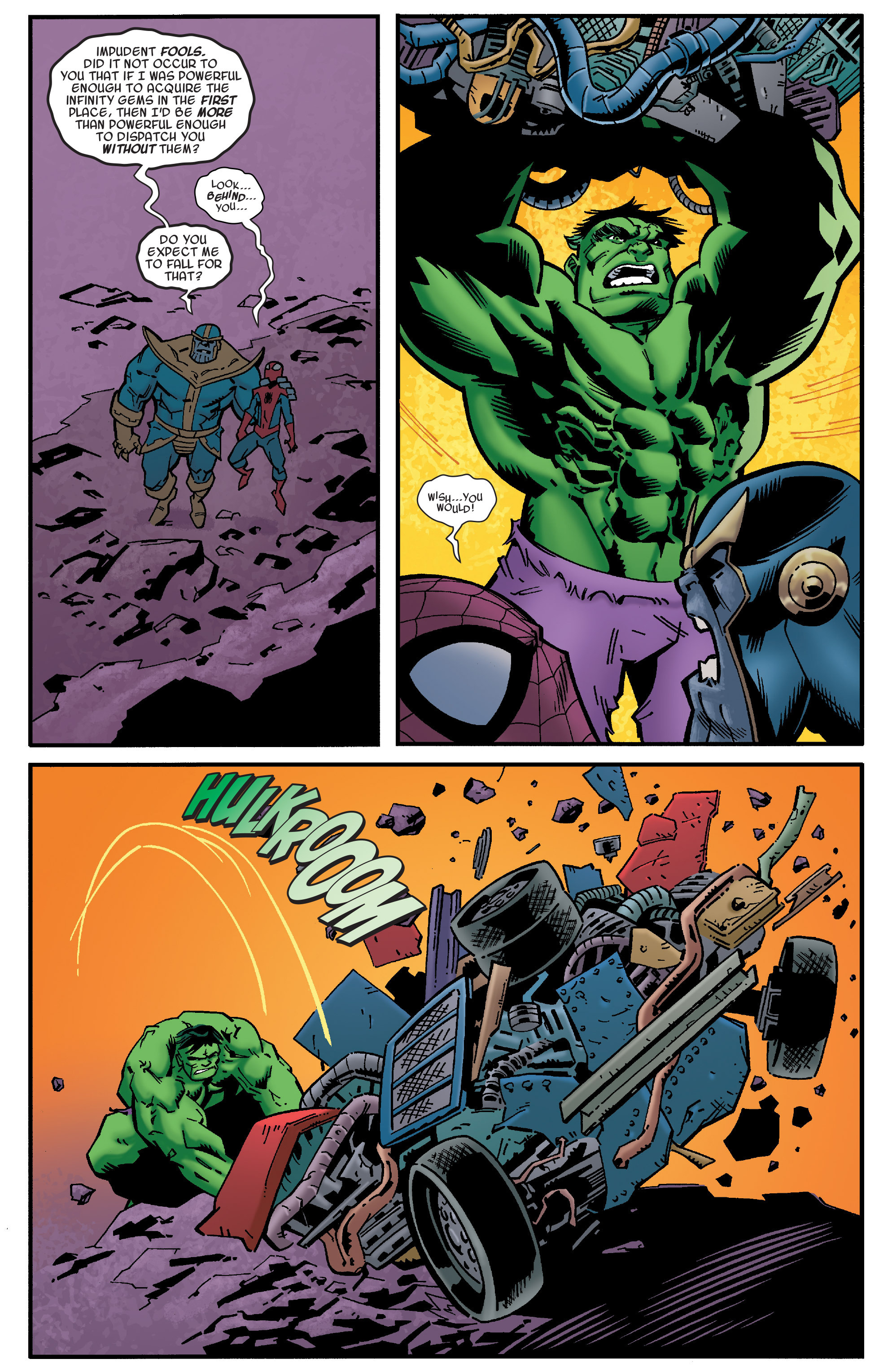Read online Avengers & the Infinity Gauntlet comic -  Issue #4 - 9