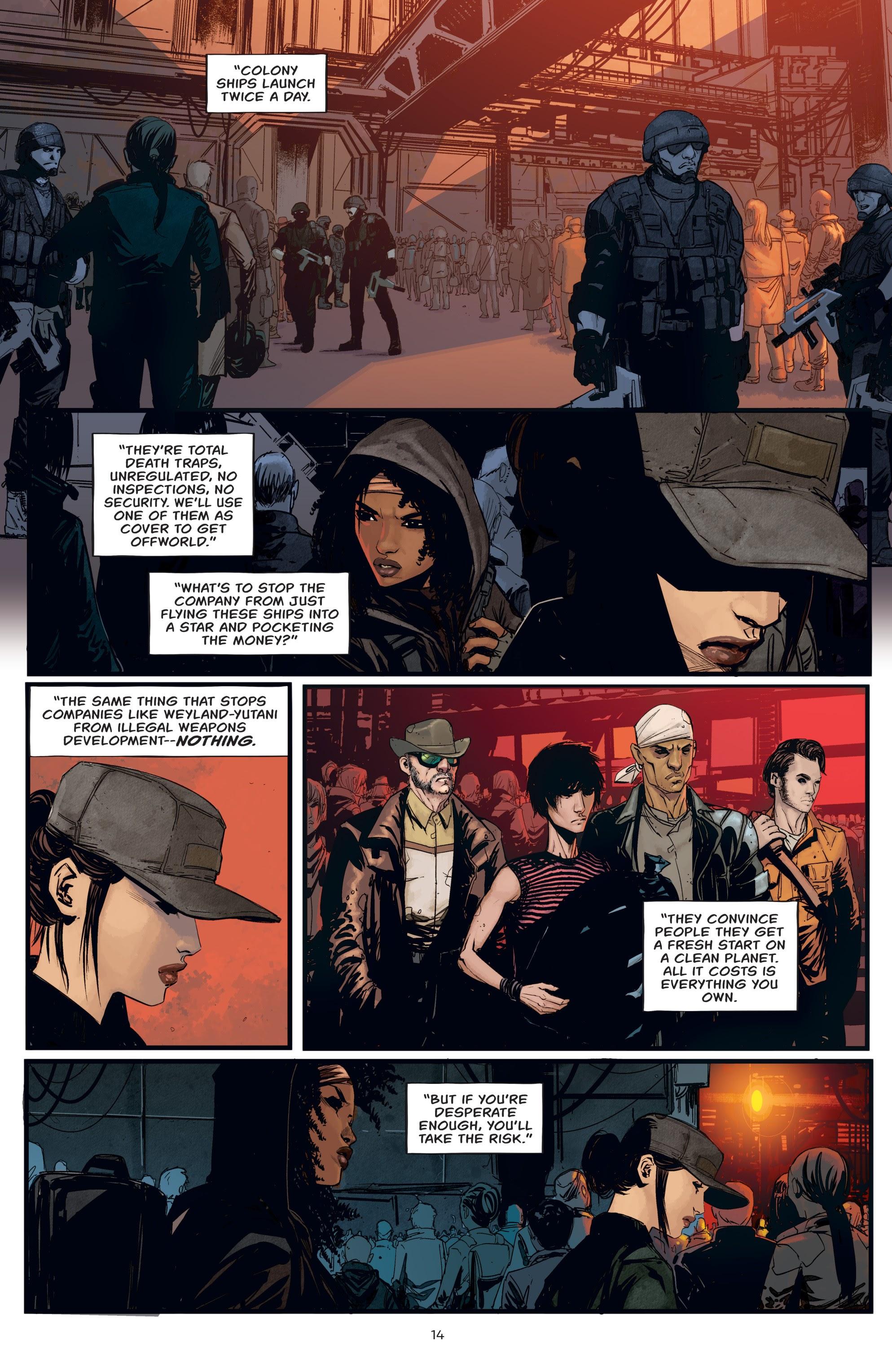 Read online Aliens: Resistance comic -  Issue # _TPB - 14