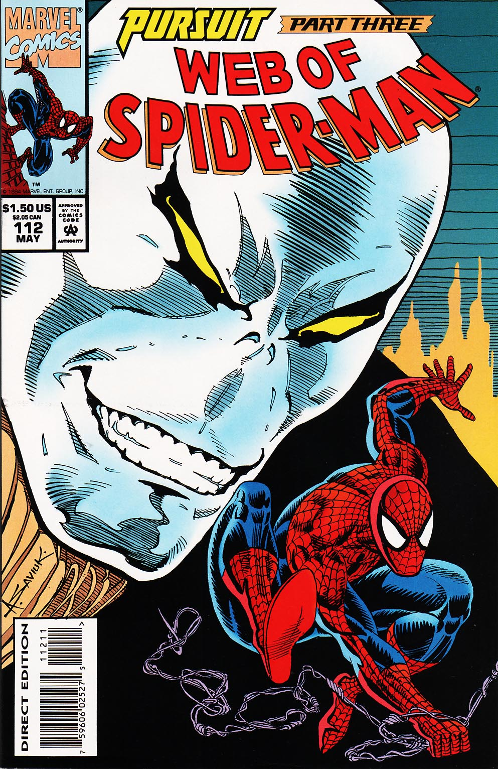 Web of Spider-Man (1985) 112 Page 1