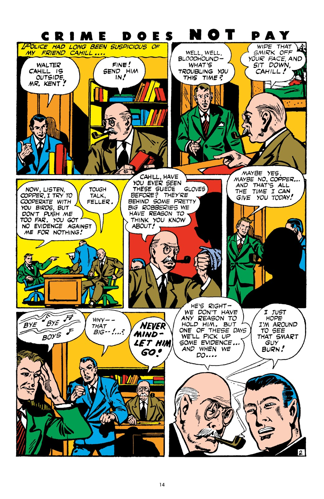 Read online Crime Does Not Pay Archives comic -  Issue # TPB 4 (Part 1) - 14
