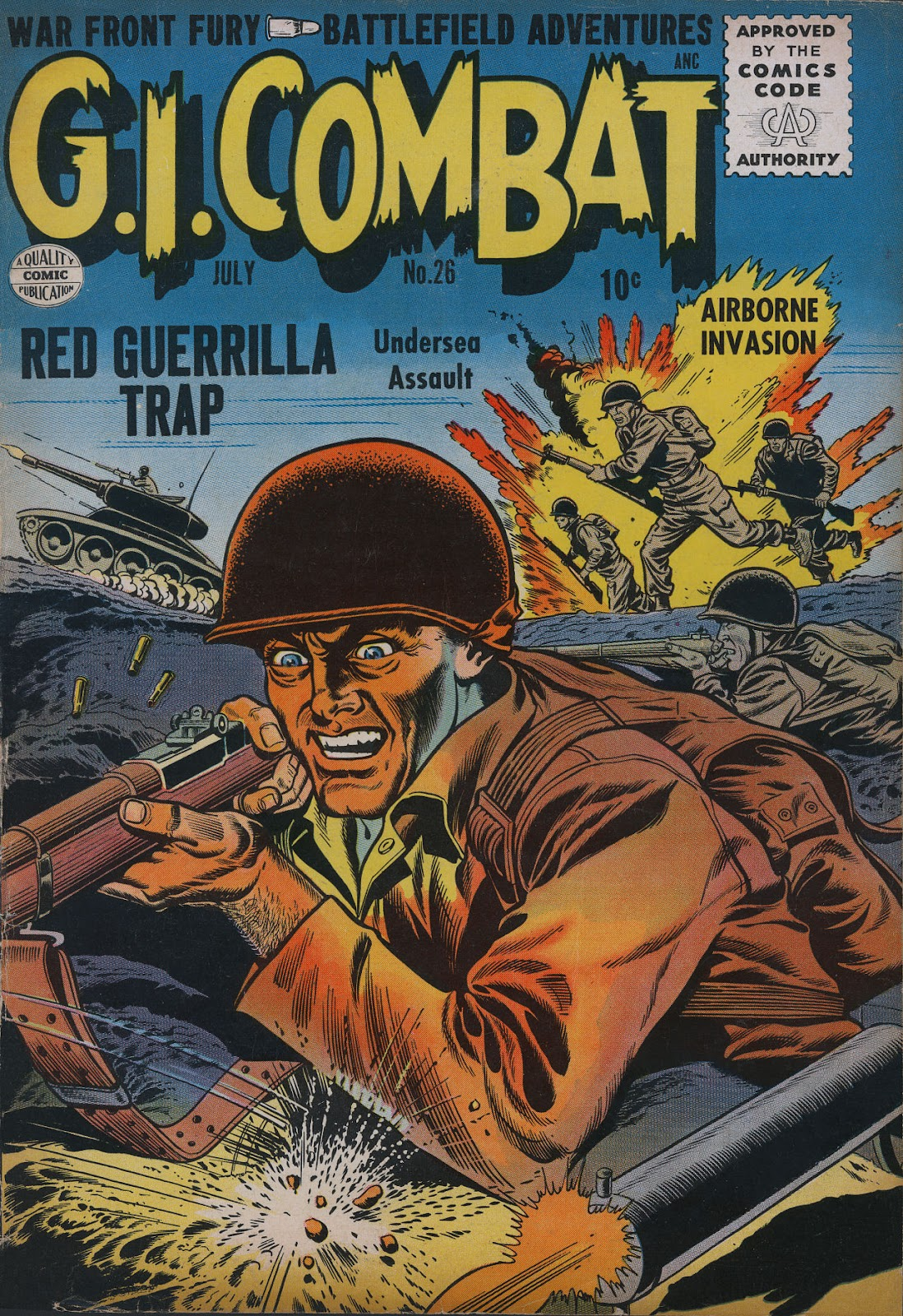 G.I. Combat (1952) issue 26 - Page 1
