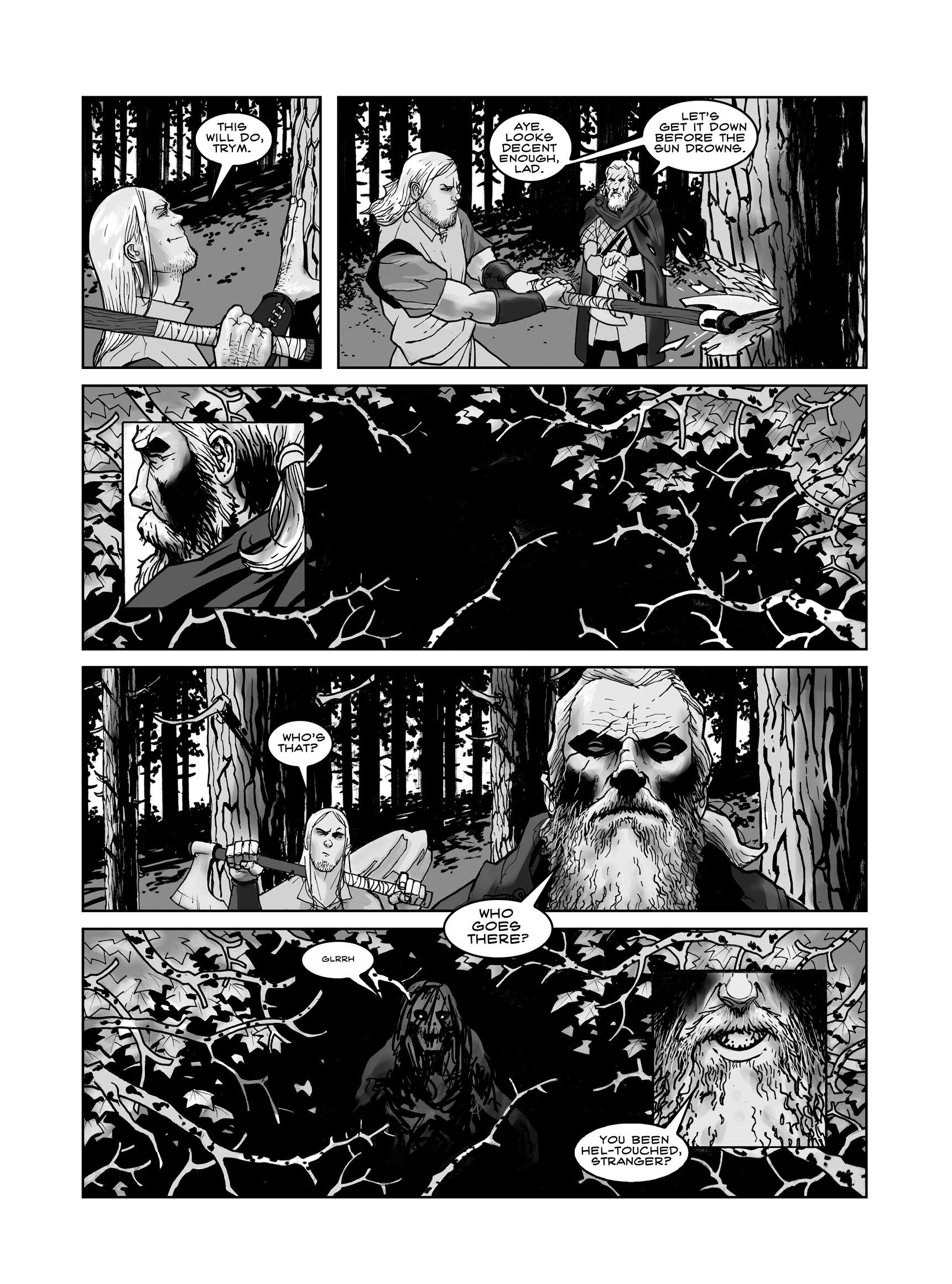 Read online FUBAR comic -  Issue #3 - 8