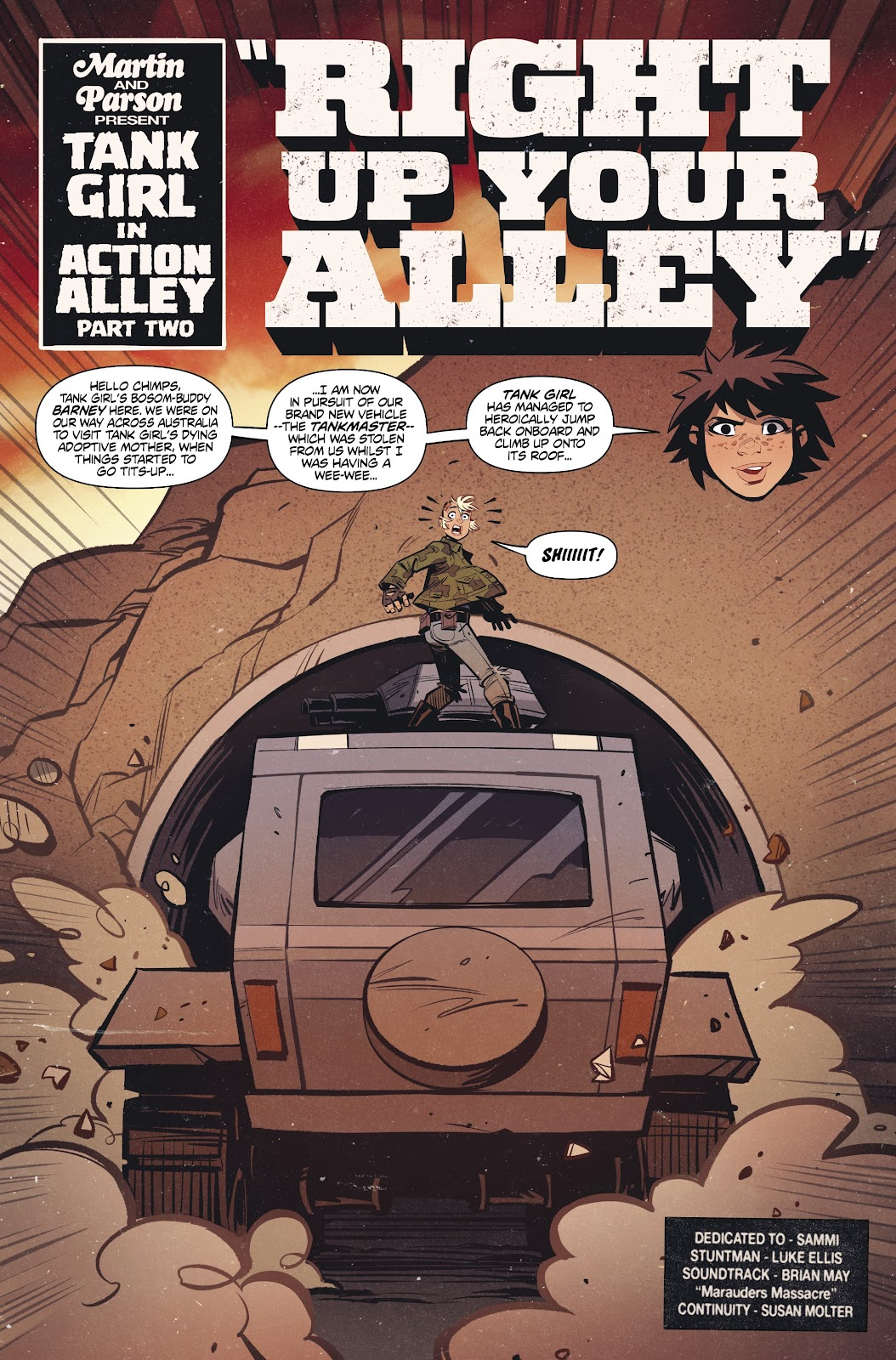 Read online Tank Girl Ongoing comic -  Issue #2 - 5