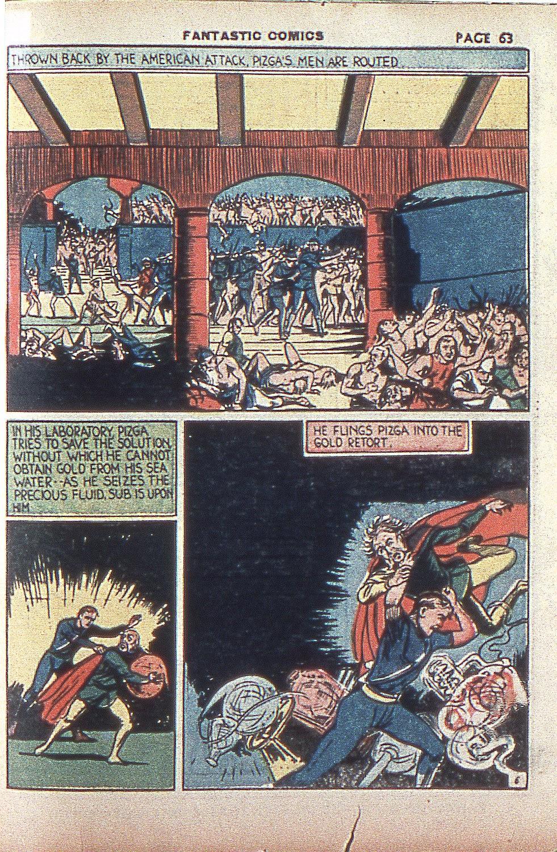 Read online Fantastic Comics comic -  Issue #4 - 64