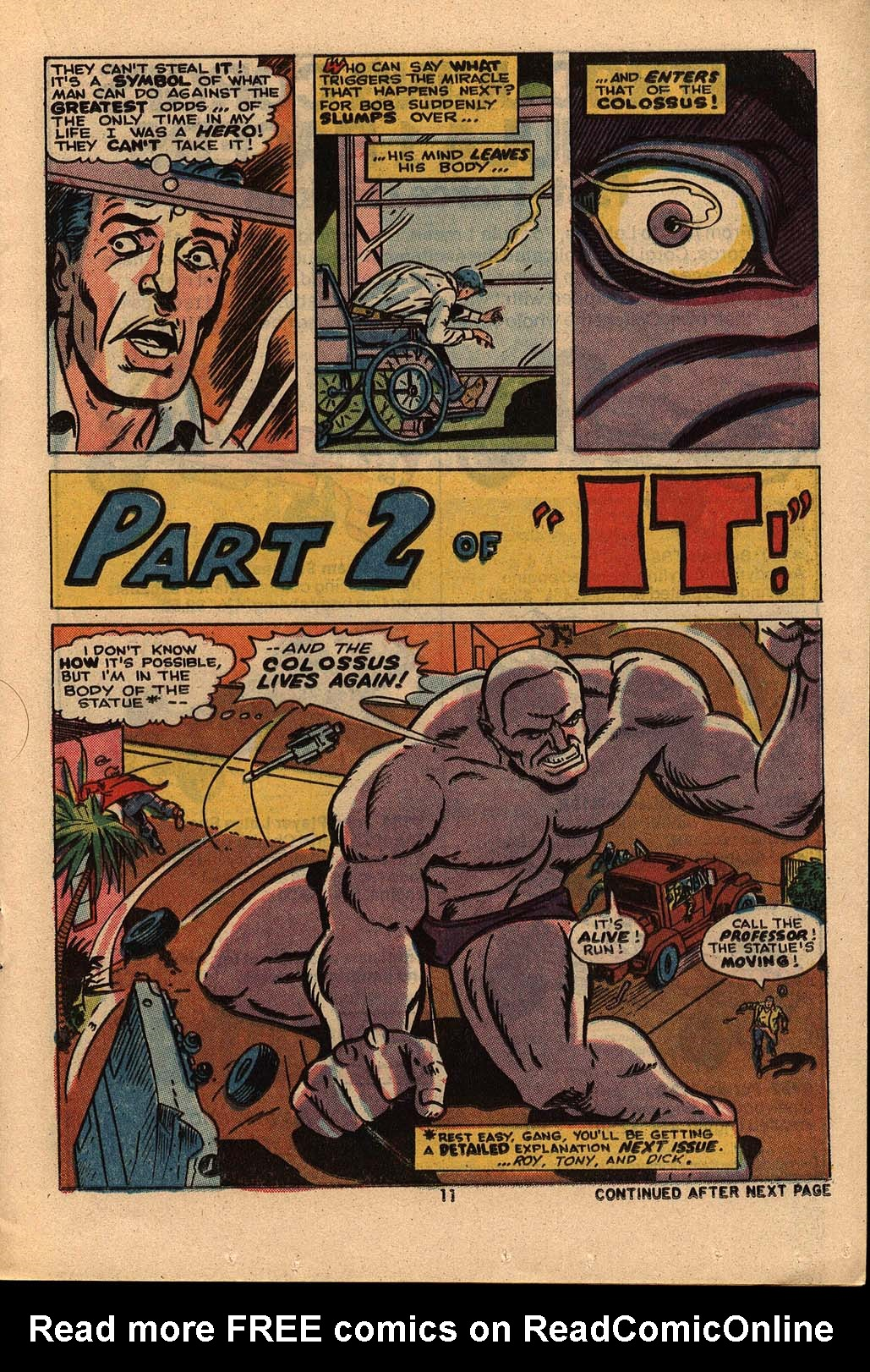 Read online Astonishing Tales (1970) comic -  Issue #21 - 8