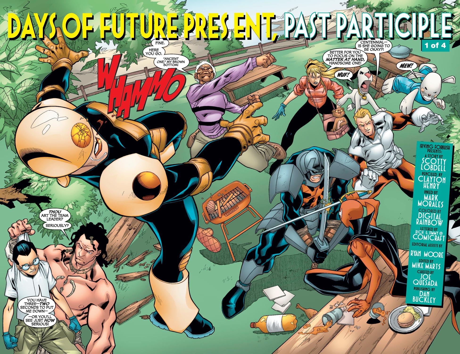Read online Alpha Flight (2004) comic -  Issue #9 - 4