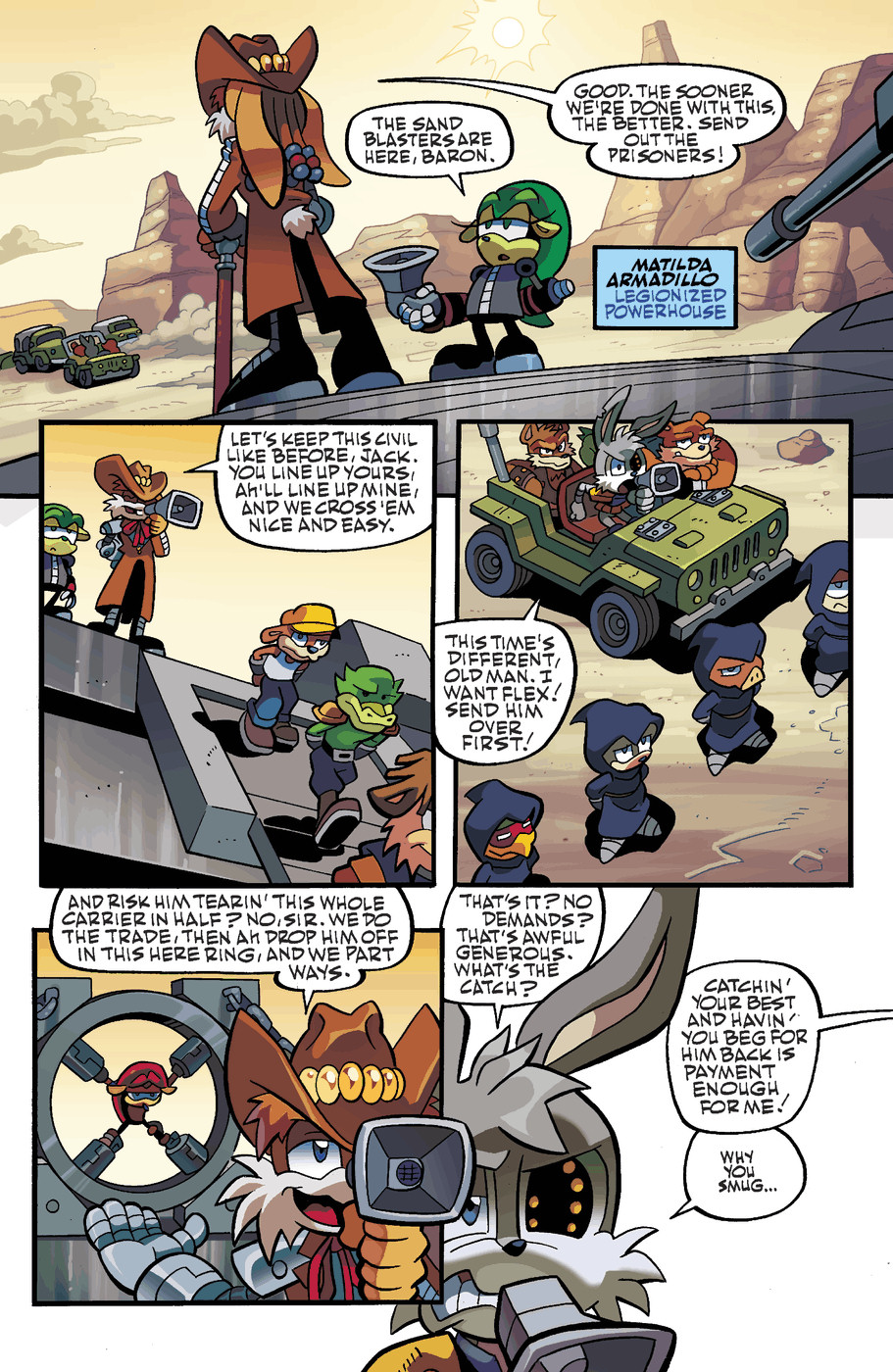 Read online Sonic Universe comic -  Issue #49 - 6