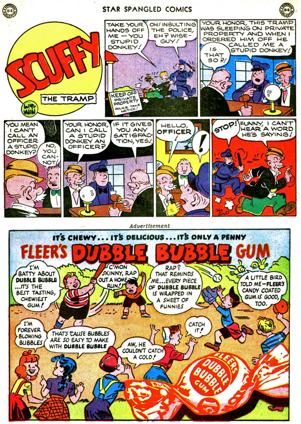 Star Spangled Comics (1941) issue 56 - Page 33