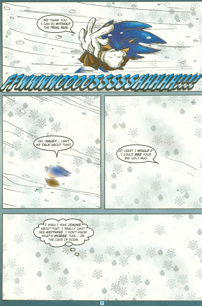 Read online Sonic Super Special comic -  Issue #15 - Naugus games - 20