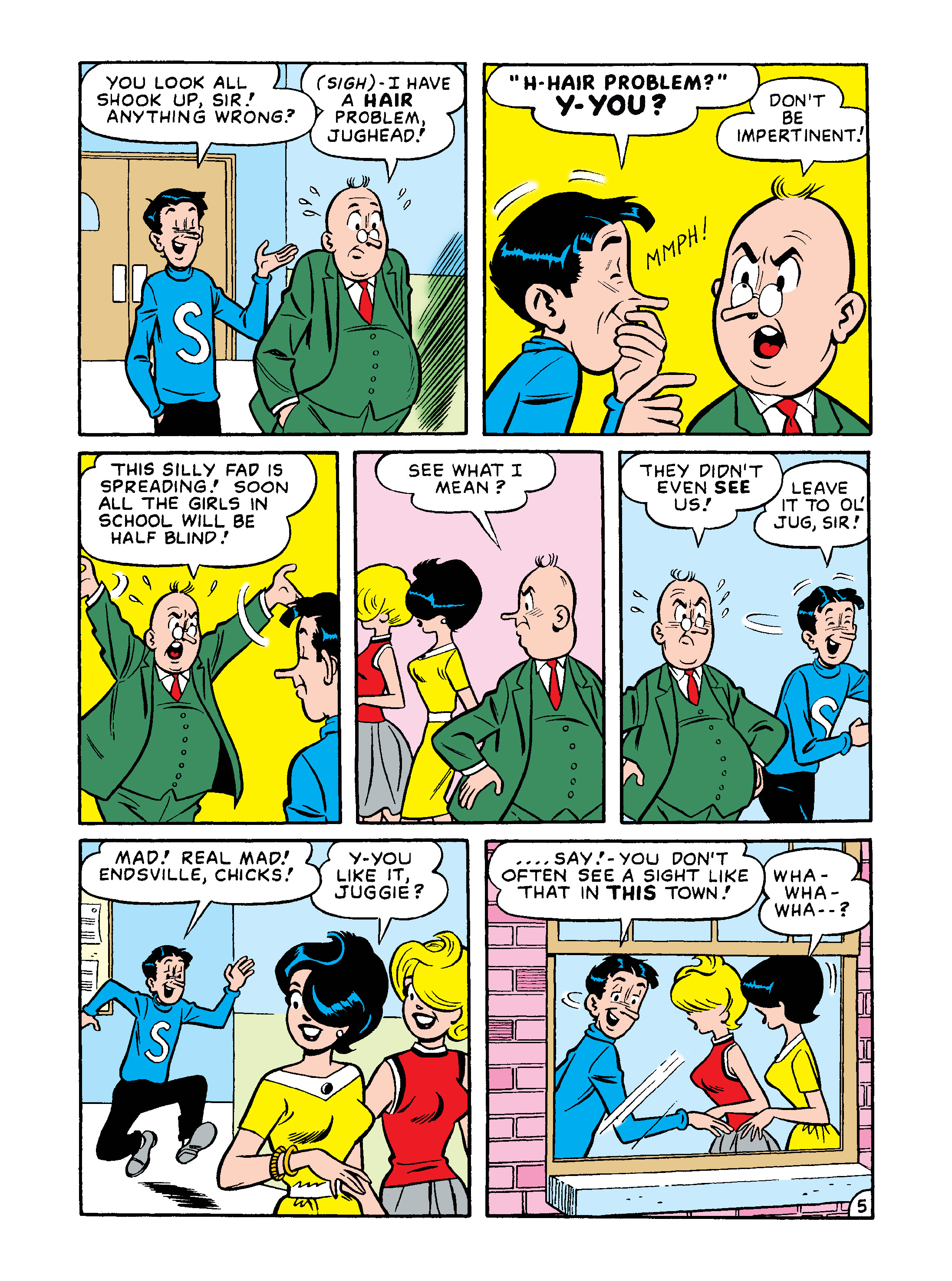 Read online Archie 75th Anniversary Digest comic -  Issue #4 - 173