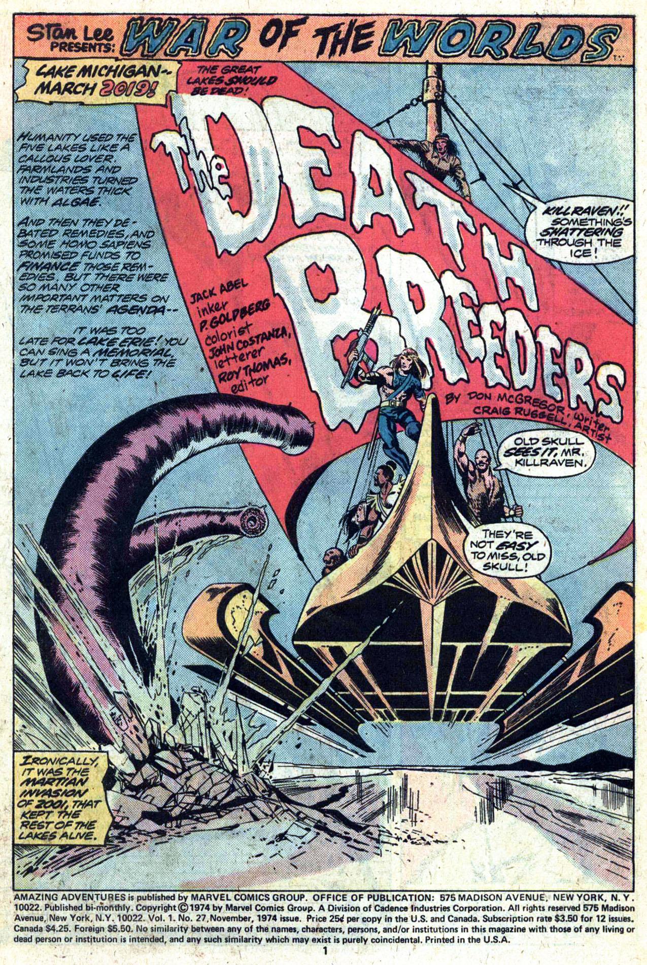 Read online Amazing Adventures (1970) comic -  Issue #27 - 3