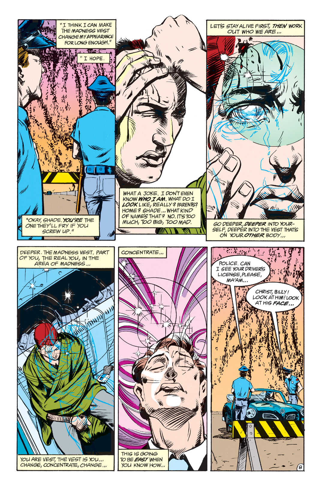 Read online Shade, the Changing Man comic -  Issue #2 - 10