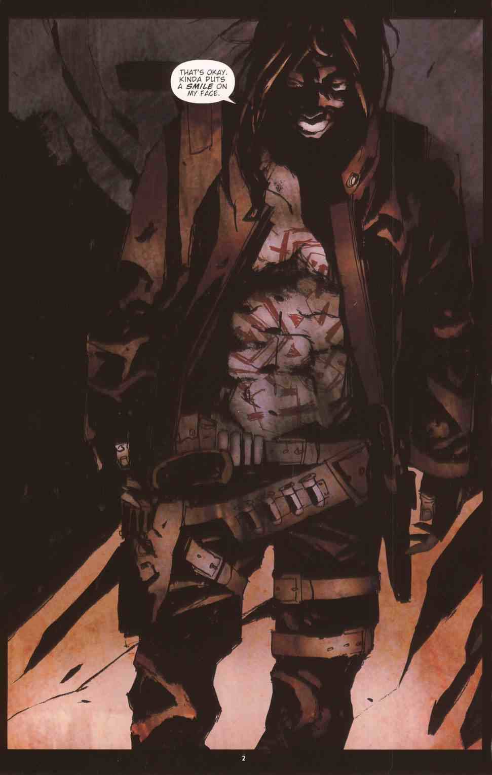 Read online Silent Hill: The Grinning Man comic -  Issue # Full - 4
