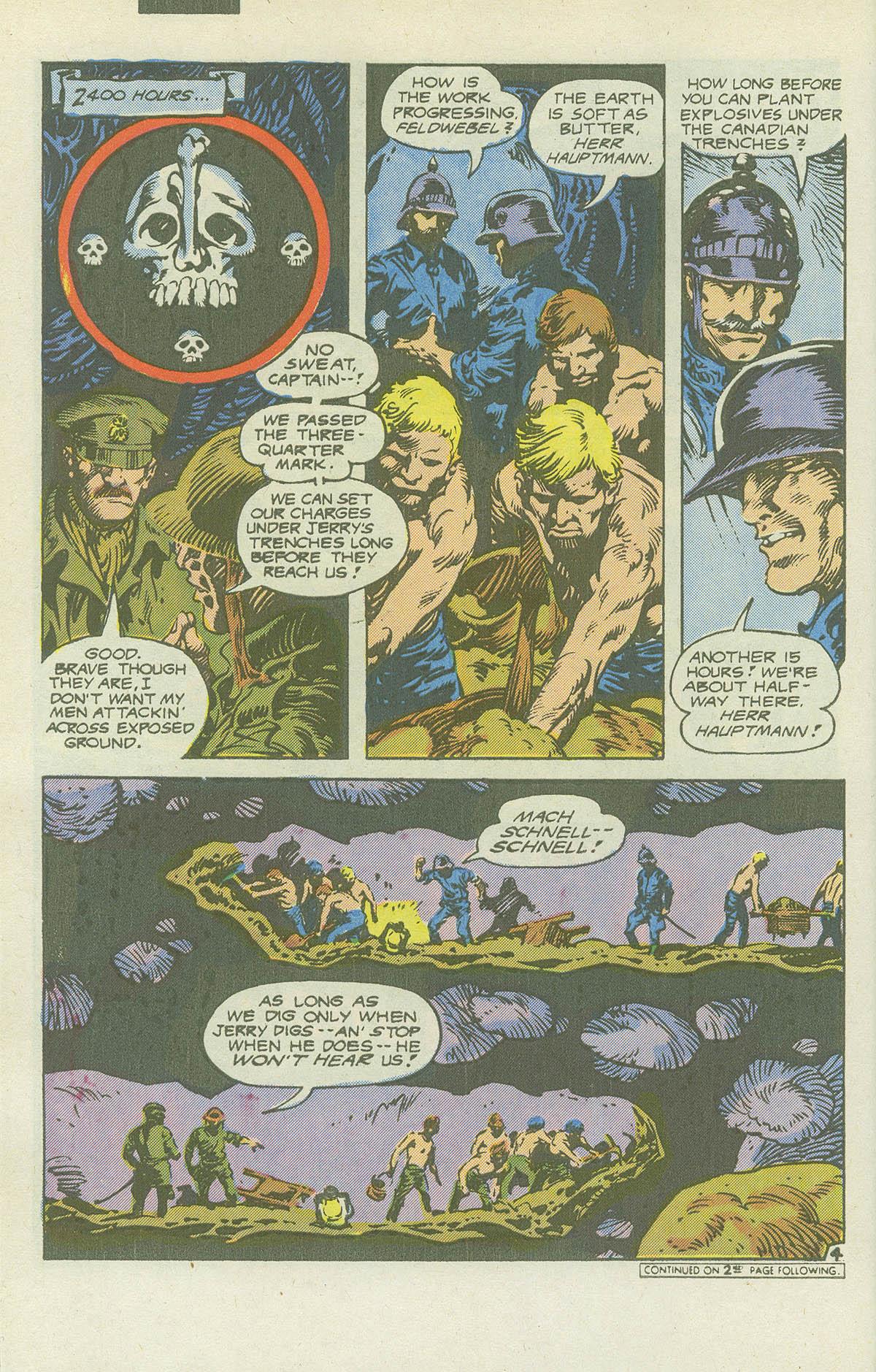 Read online Sgt. Rock comic -  Issue #415 - 27