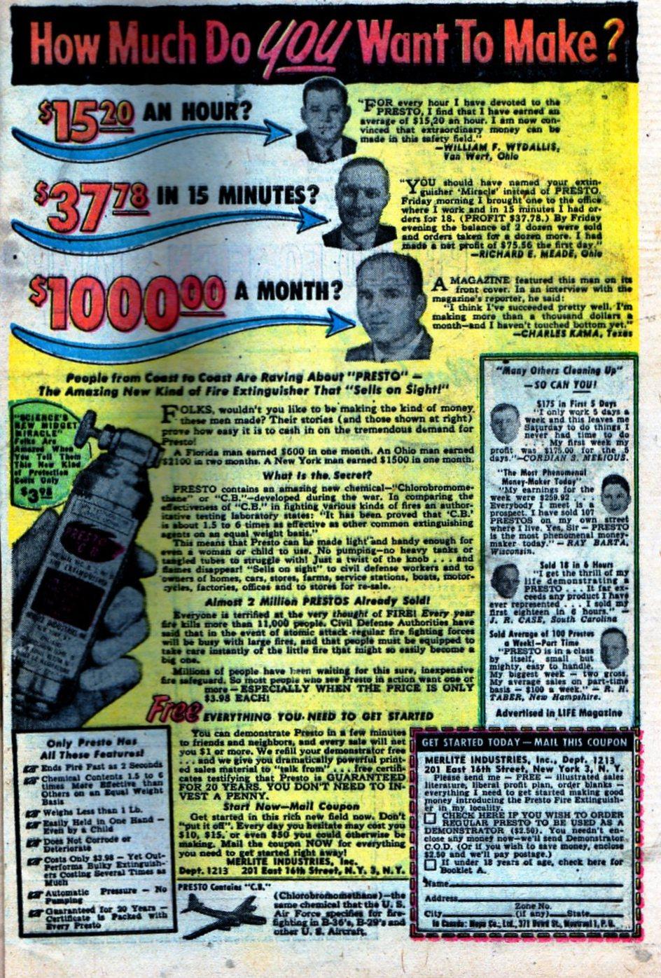 Read online Adventures into Weird Worlds comic -  Issue #27 - 34