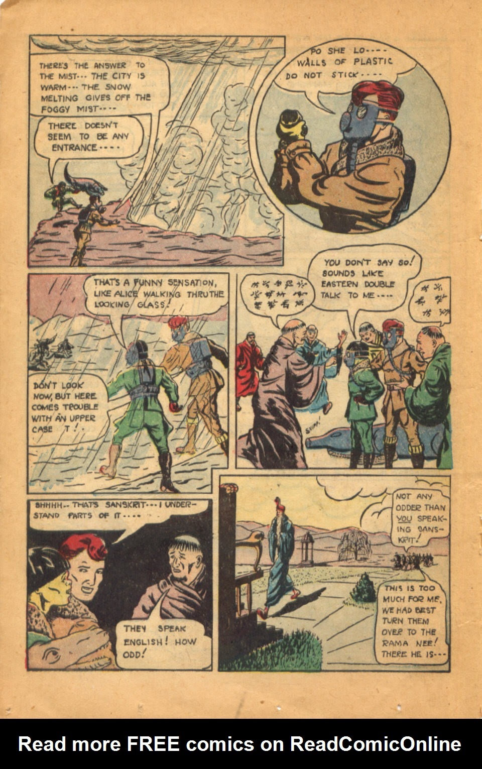Read online Super-Magician Comics comic -  Issue #52 - 27