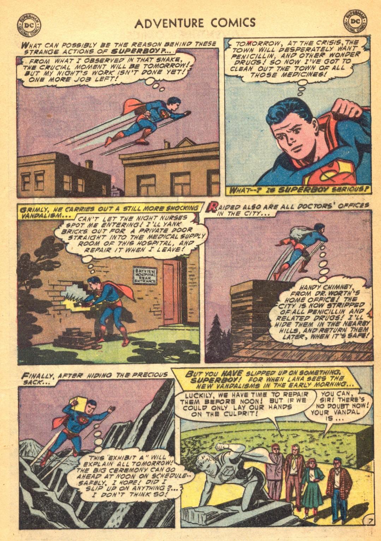 Read online Adventure Comics (1938) comic -  Issue #202 - 9