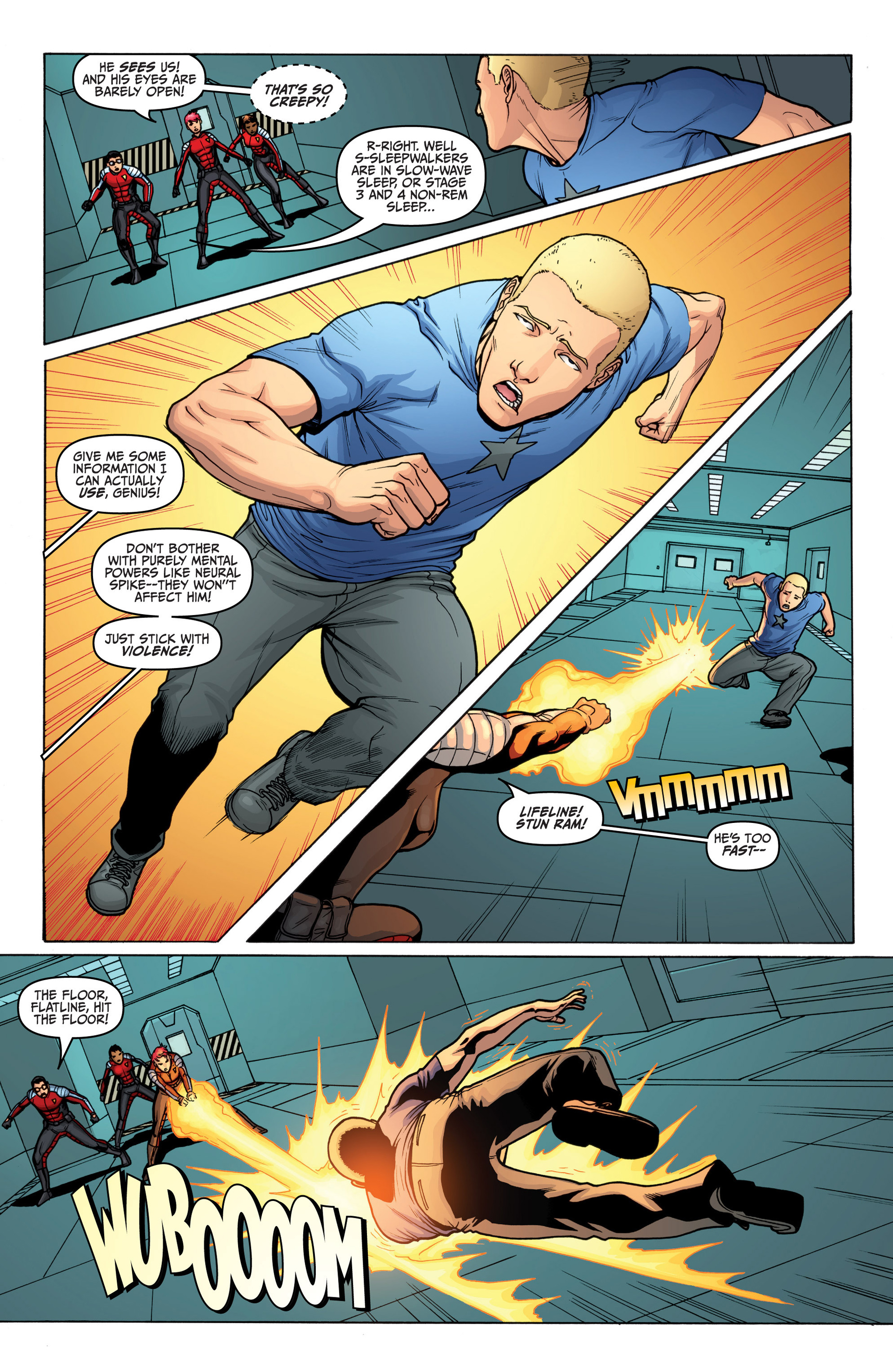 Read online Archer and Armstrong comic -  Issue #19 - 5