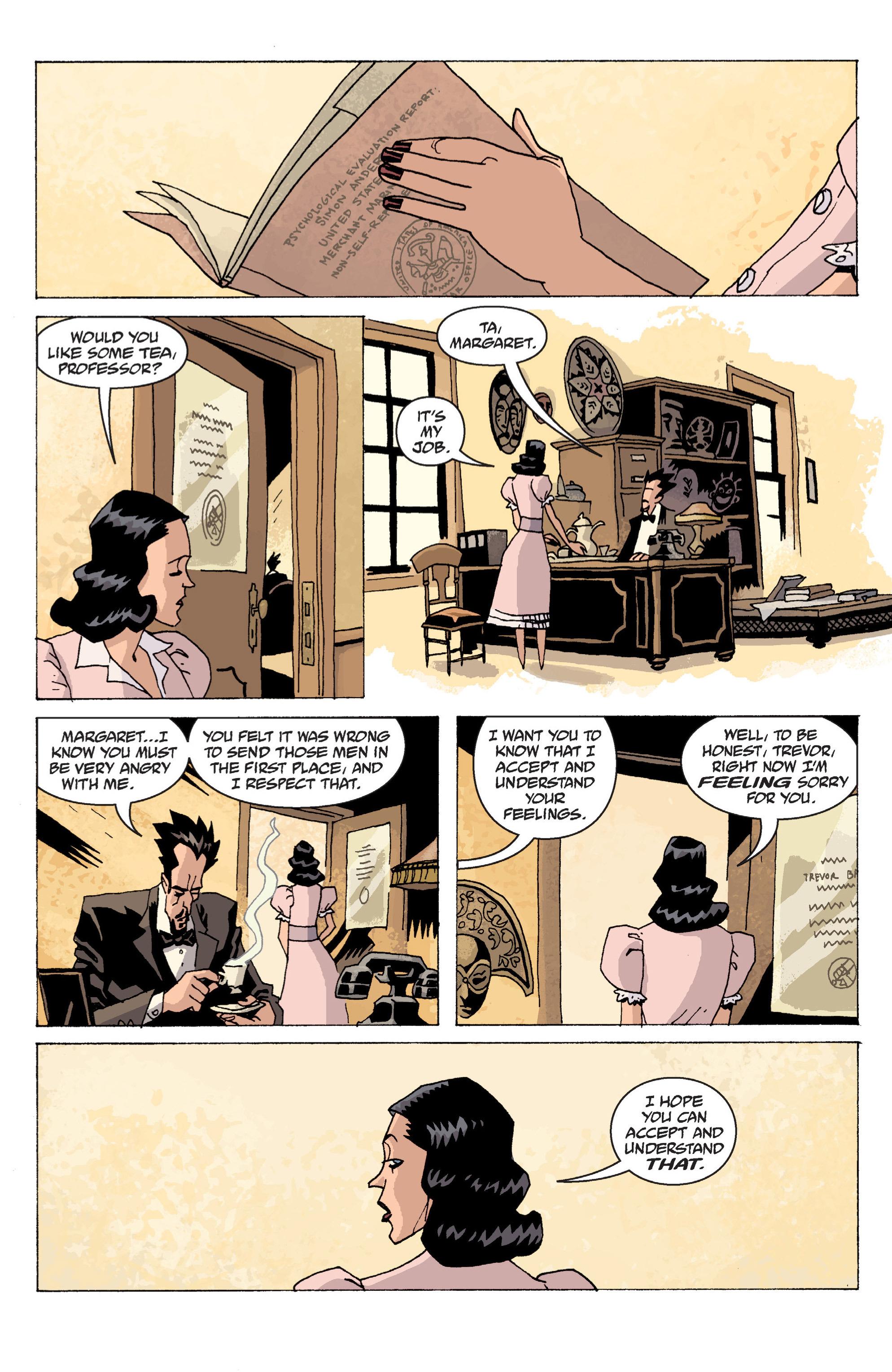 Read online B.P.R.D. (2003) comic -  Issue # TPB 13 - 88