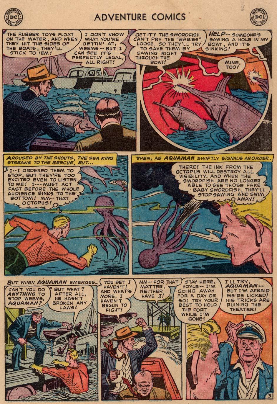 Read online Adventure Comics (1938) comic -  Issue #186 - 19