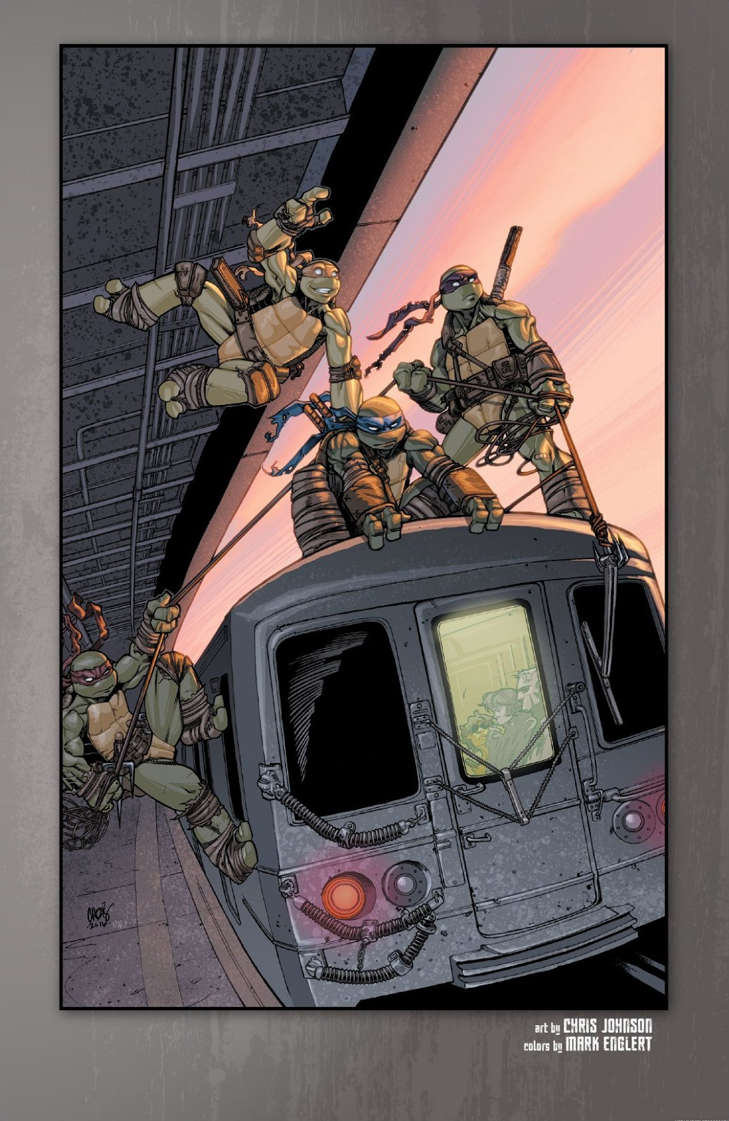 Read online Teenage Mutant Ninja Turtles: The IDW Collection comic -  Issue # TPB 9 (Part 1) - 94