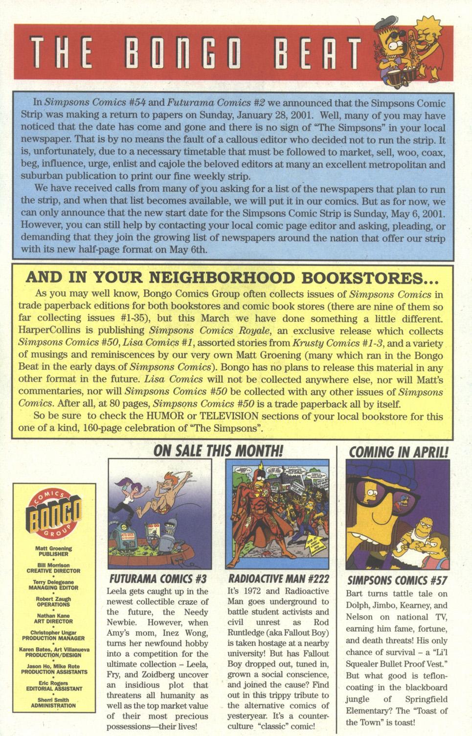 Read online Simpsons Comics comic -  Issue #56 - 26