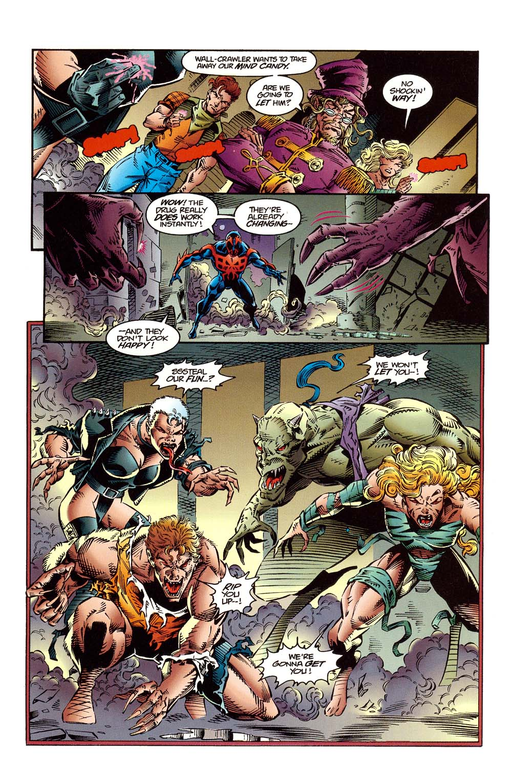 Read online 2099 Unlimited comic -  Issue #10 - 18