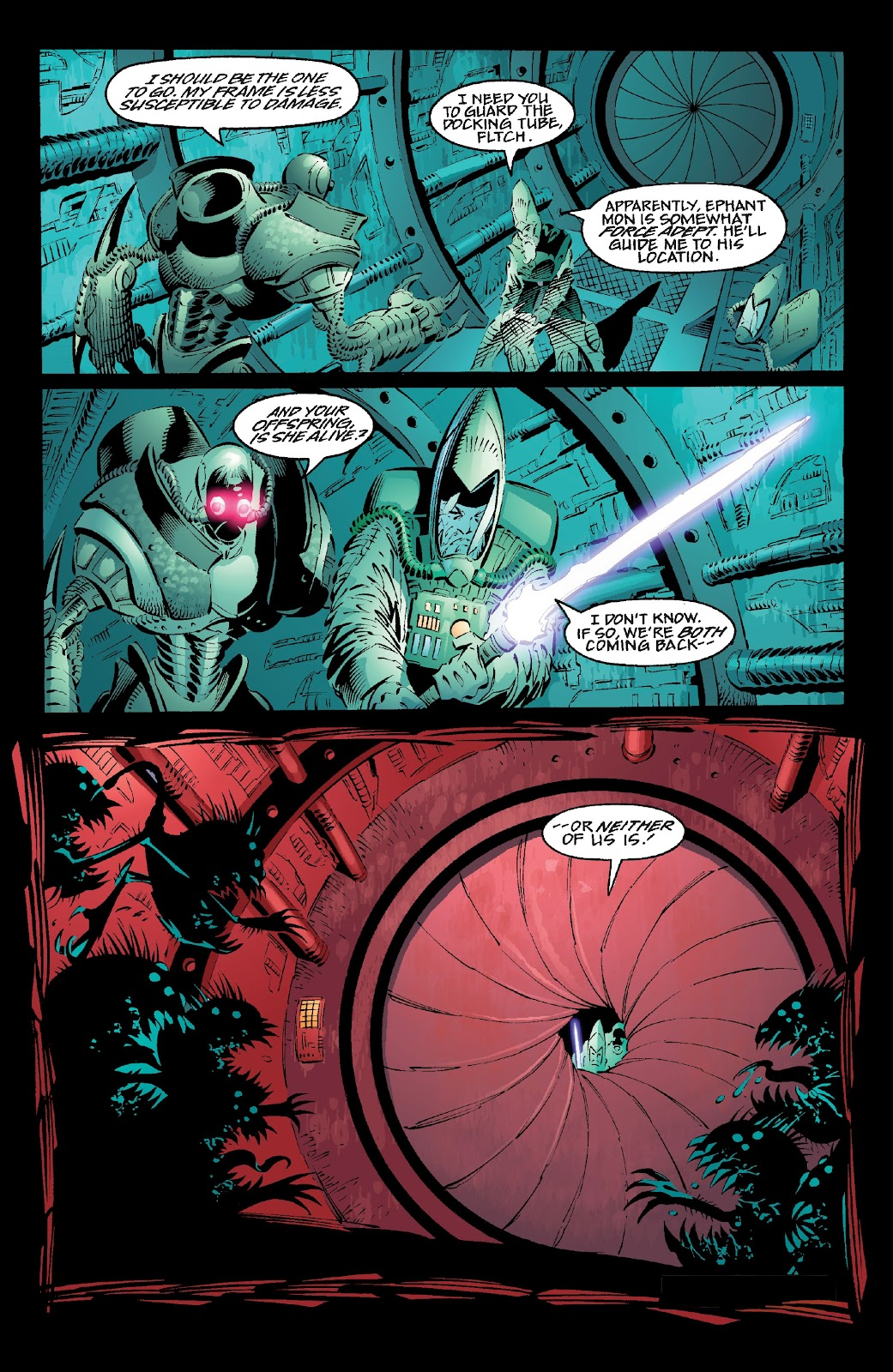 Read online Star Wars Legends: Rise of the Sith - Epic Collection comic -  Issue # TPB 2 (Part 1) - 92