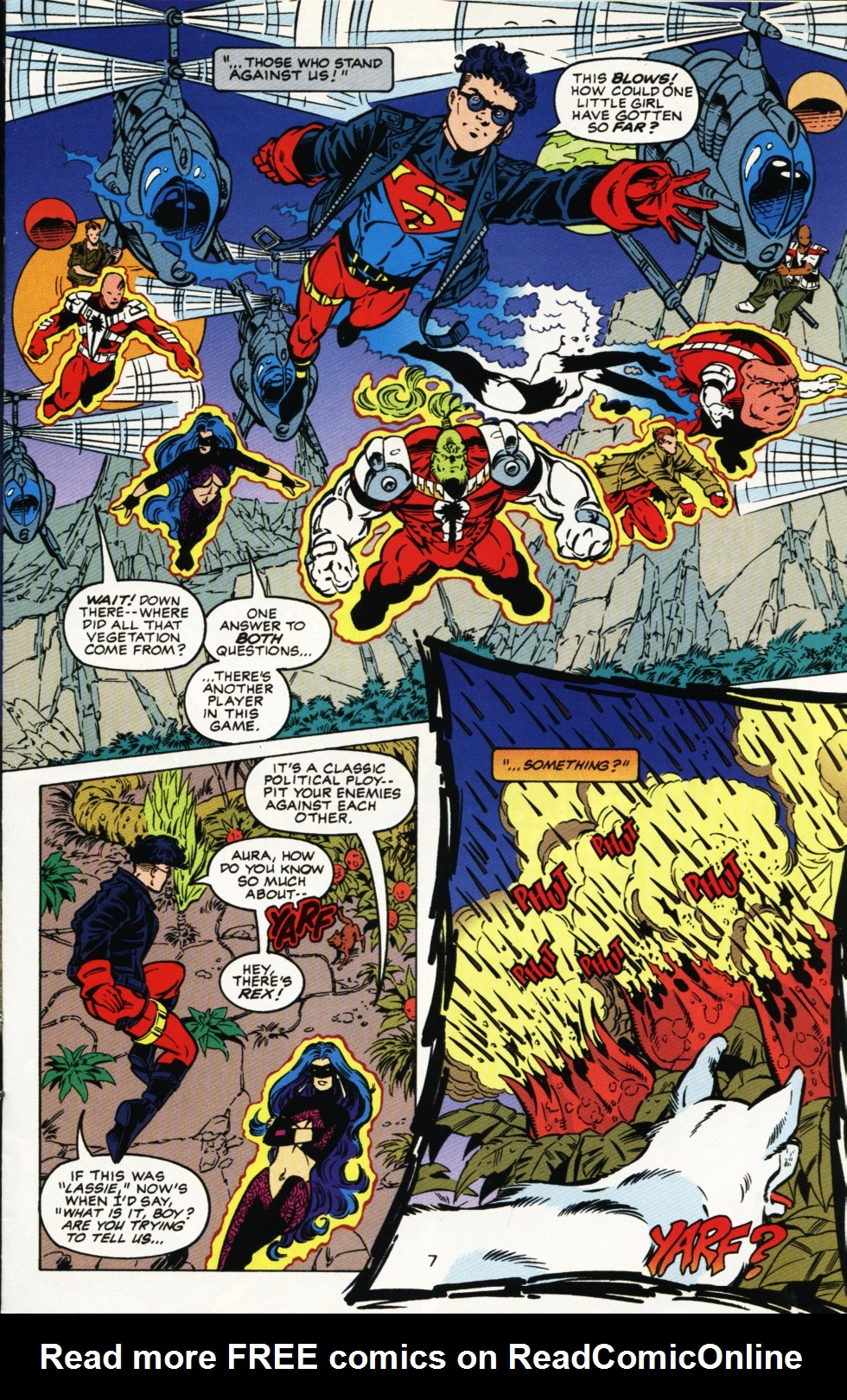 Read online Superboy & The Ravers comic -  Issue #4 - 8
