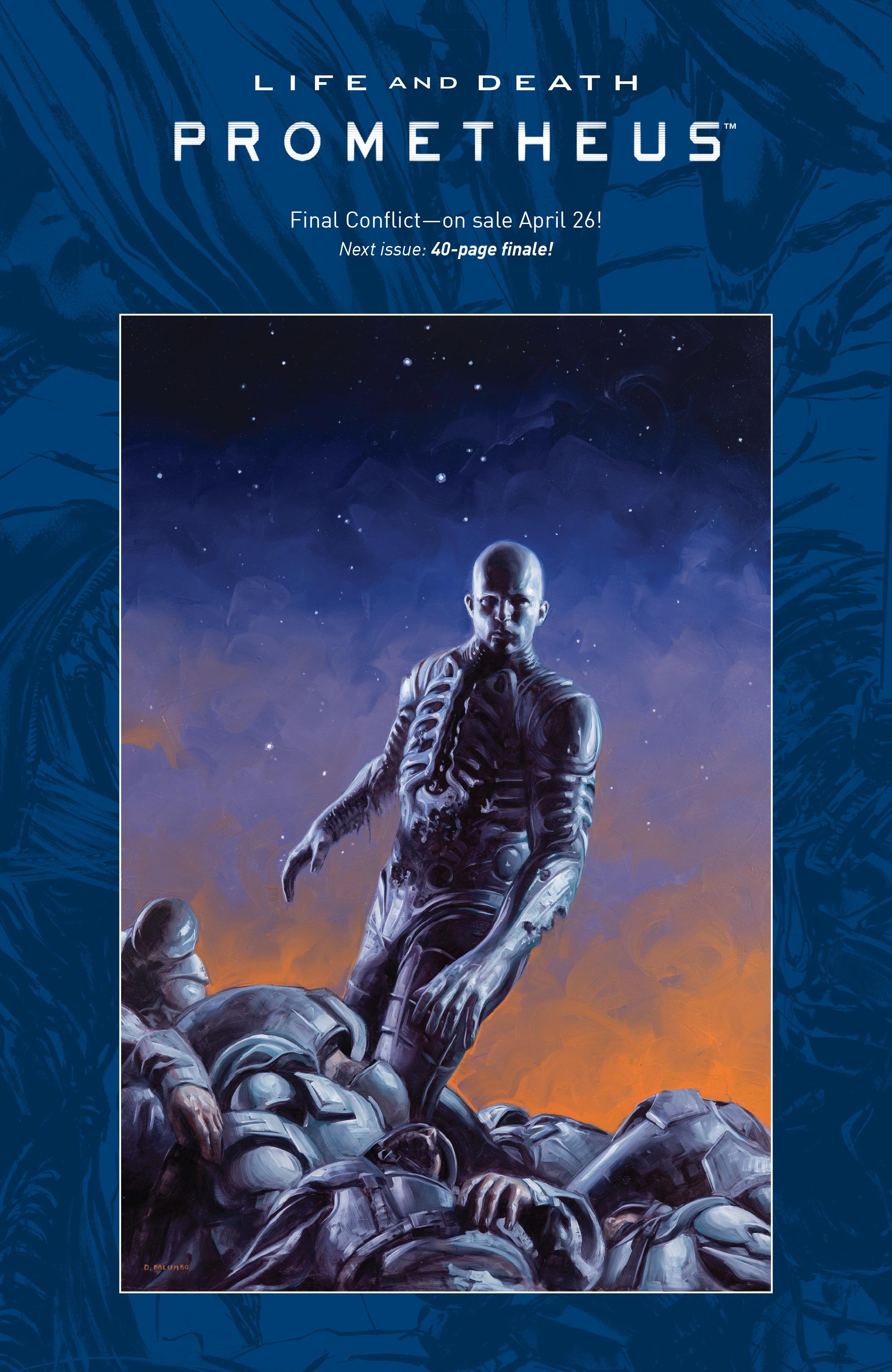 Read online Alien Vs. Predator: Life and Death comic -  Issue #4 - 24