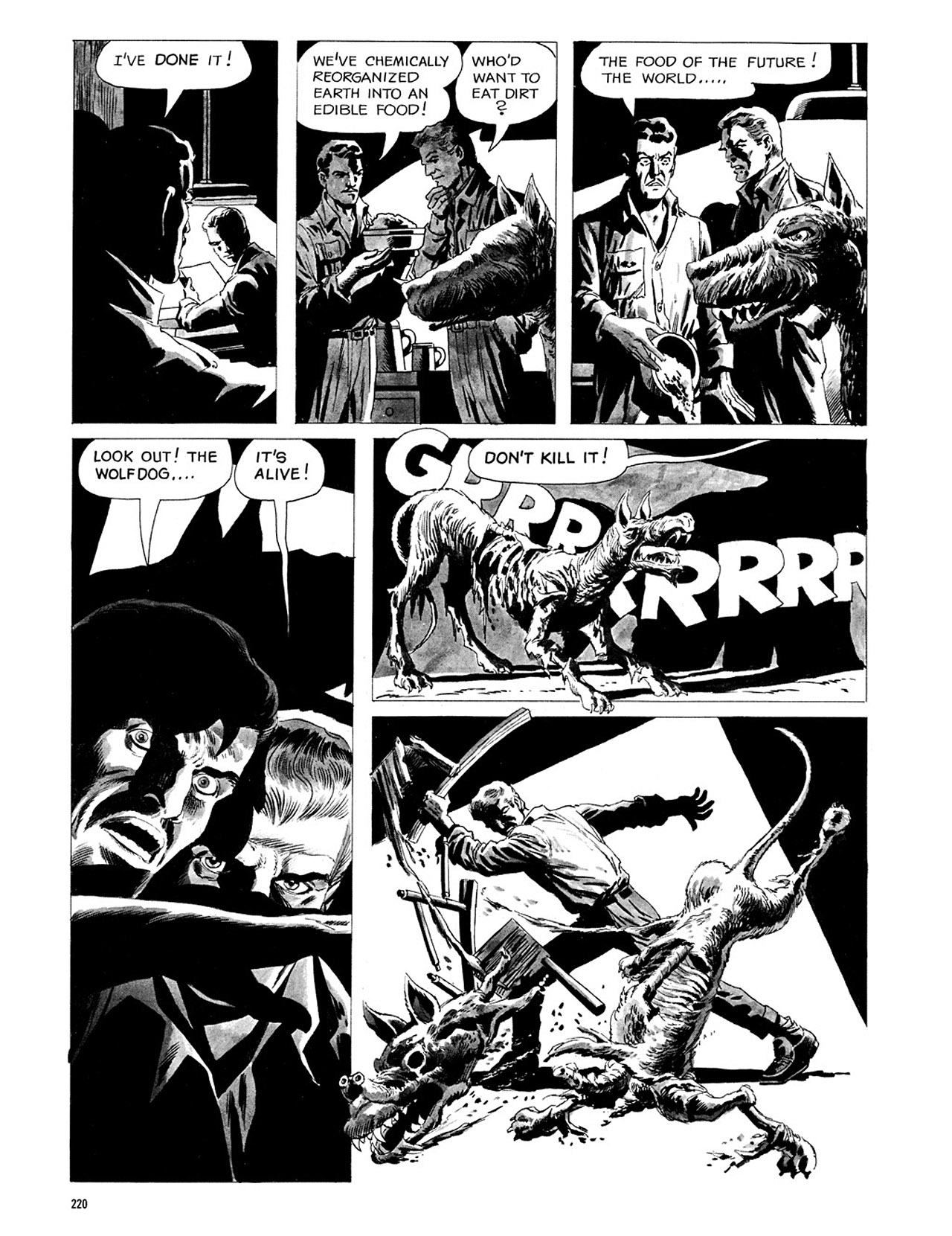 Read online Eerie Archives comic -  Issue # TPB 3 - 221