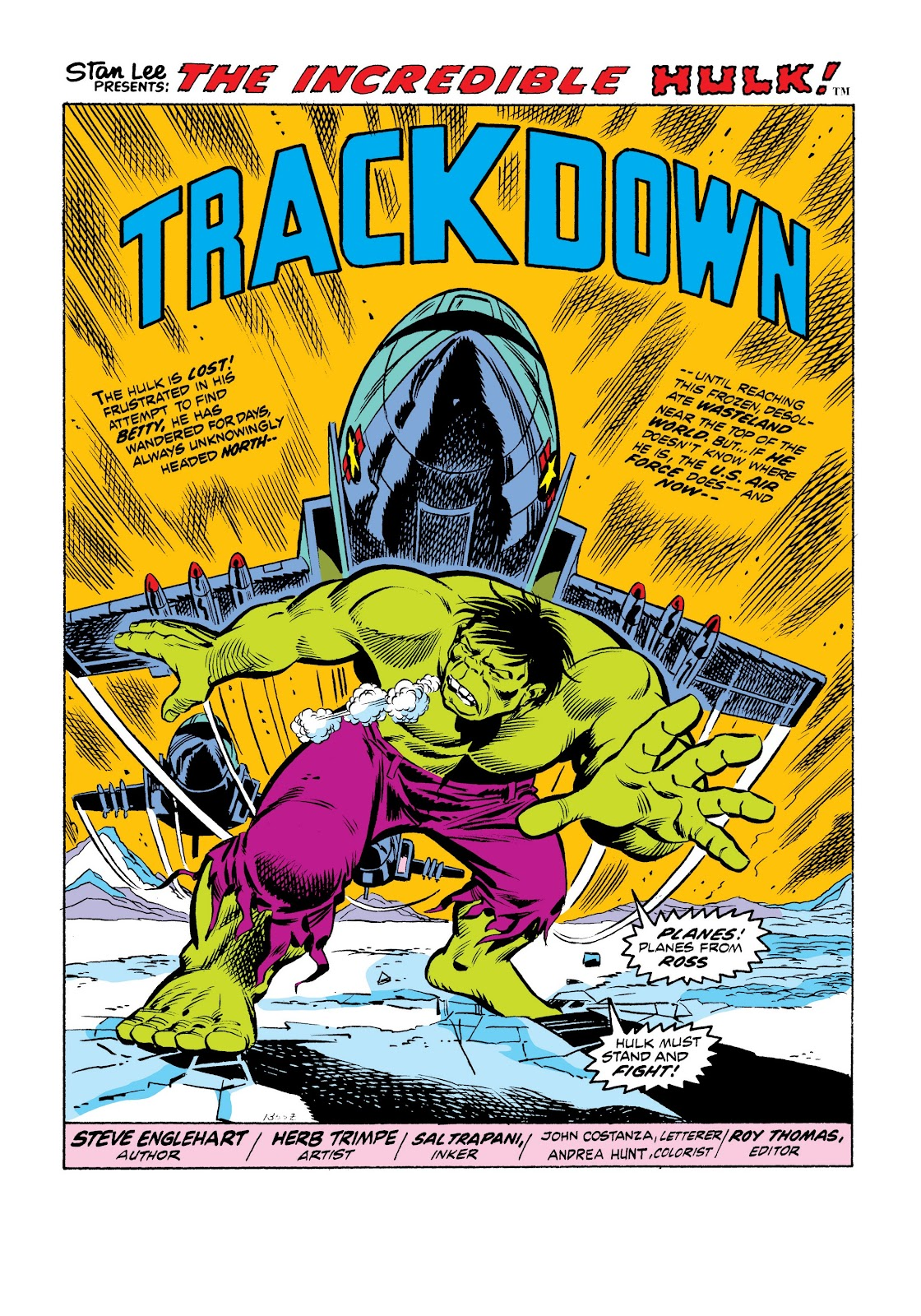 Read online Marvel Masterworks: The Incredible Hulk comic -  Issue # TPB 9 (Part 2) - 36