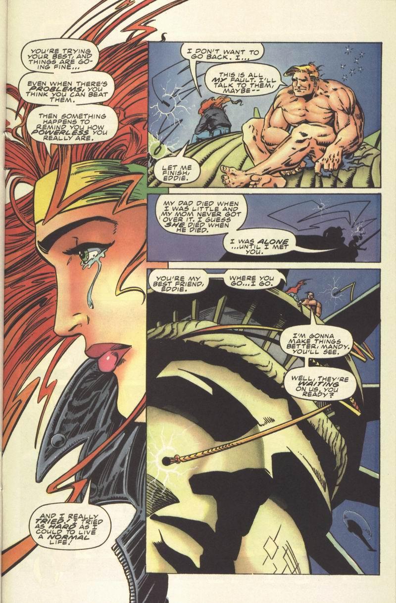 Read online Secret Weapons comic -  Issue #8 - 21