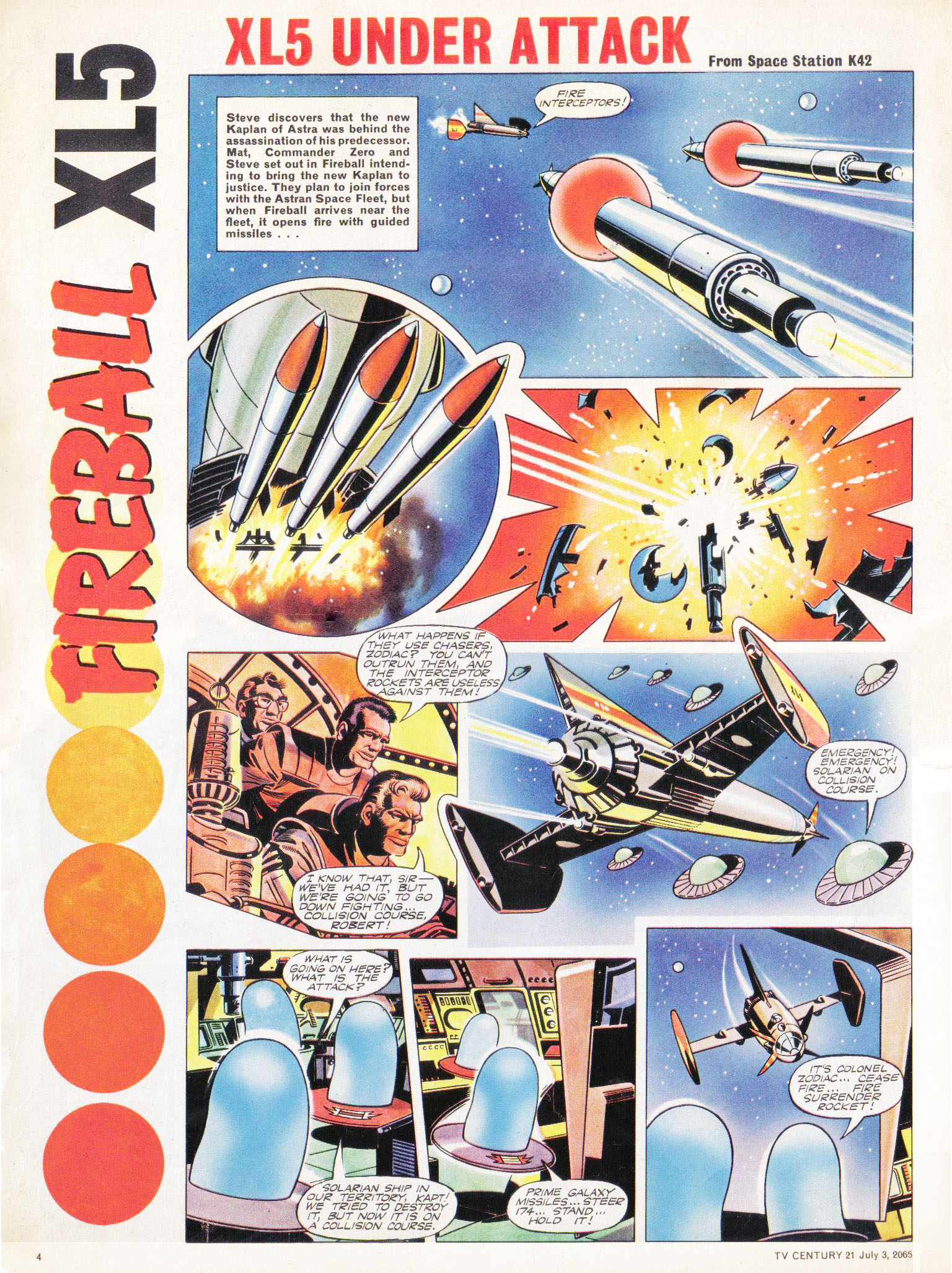 Read online TV Century 21 (TV 21) comic -  Issue #24 - 4
